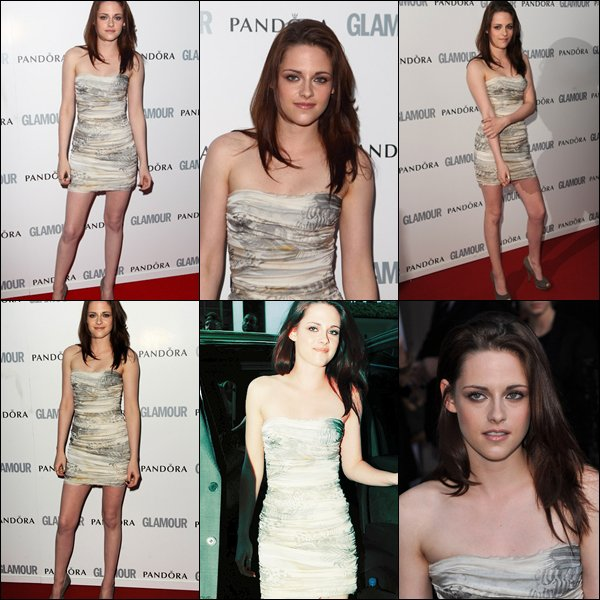 "Kristen était présente aux ""Glamour women of the year Awards"" :).    Top ou Flop?"