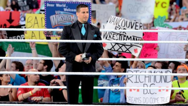 Justin pics from Wrestlemania 28