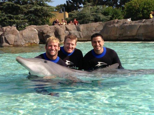 Justin at SeaWorld! ^^