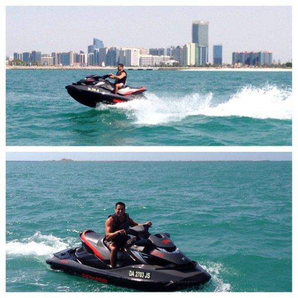 Justin in Abu Dhabi