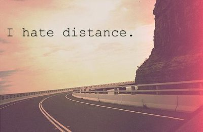 distance..