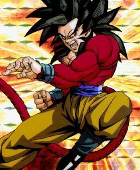 Sangoku super sayen 4 dragon ball z - Sangoku super sayen 2 ...