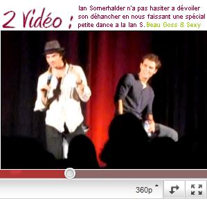 """11 Juin 2011 ♦ Paul & Ian à Barcelone pour la convention """" Bloody Night con""""  Remarque : Désoler de la mauvaise qualité des photos elle provienne de portable de fan"""