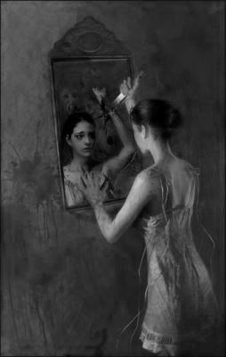 Blog de haineuz parole ecrire c 39 est hurler en silence for Reflet dans le miroir