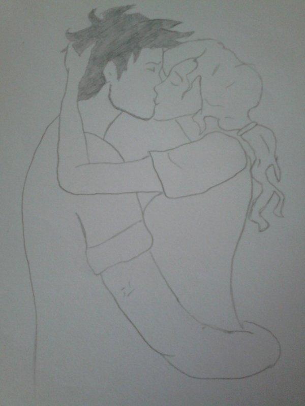 un petit dessin que j'ai fait avec un ami !!