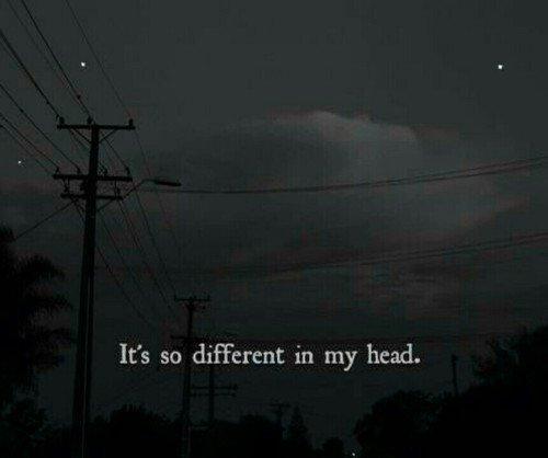 J'ai la tête dans les nuages