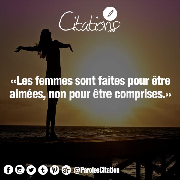 Les femmes *_*
