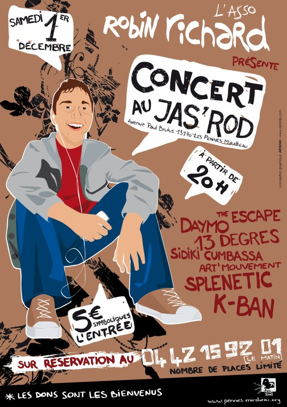 2ème spectacle de soutien au Jas'rod des Pennes Mirabeau