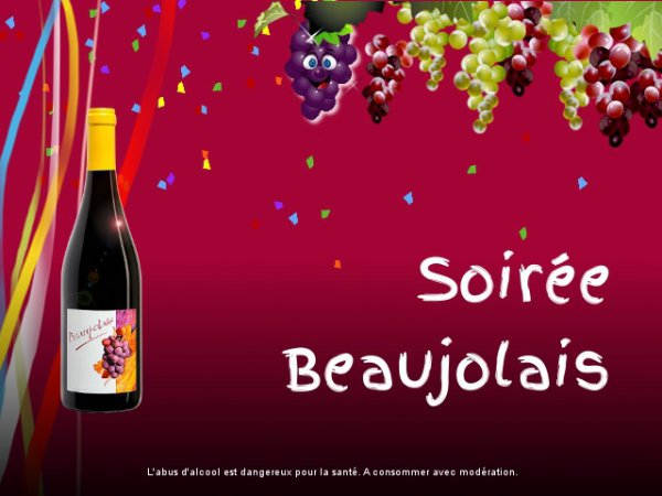 Beaujolais nouveau !!!