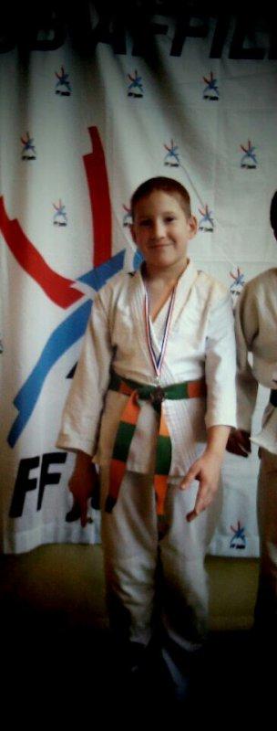 Compétition du 29/03/14 à Neuilly-Plaisance mon fils a fini deuxième