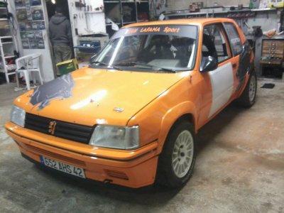 205 rallye GR A5 pour saisson rallye 2011