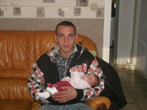 mon beau frere avec sa fille