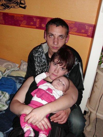 ma soeur mon beau frere et leur fille malvina