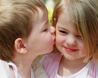 je t'embrasse ma chérie