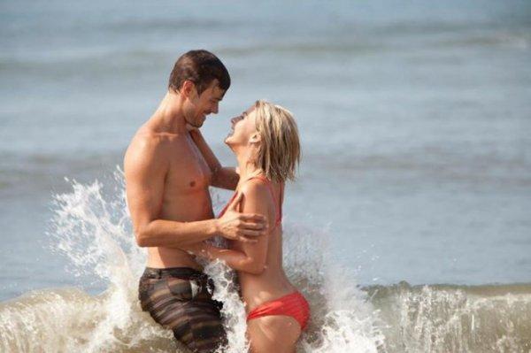 agréable d'être ensemble sur la plage