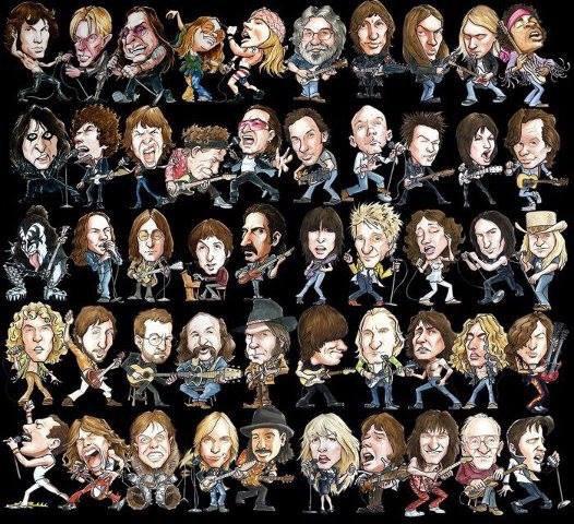 L'histoire du rock...