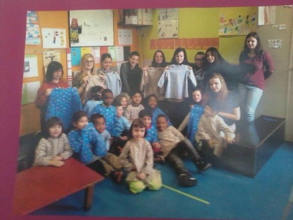 Visite à l'école St Martin