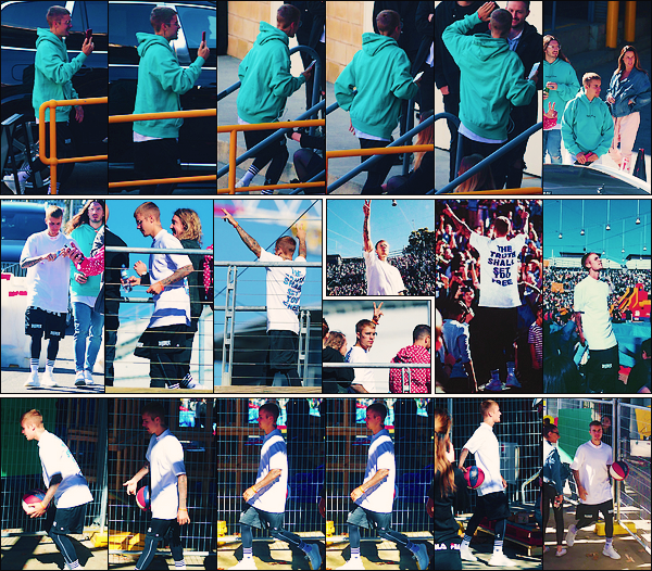 • 07 juillet2017 ||Justin Bieber à été photographier arrivant à la conférence Hillsong toujours à Sydney ! Il à aussi été vu jouant au basket tout en discutant avec des amis. Il à pris le temps de posé avec ses fans présente. •