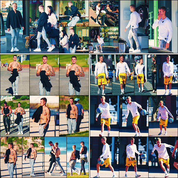 • 04 juillet2017 ||C'est accompagnée du pasteur et ami Carl Lentz que Justin à été vu dans les rues de Sydney. Il à aussi été aperçue entrain de jouer au basket au Sydney Olympic Park, ainsi qu'arrivant à la conférence Hillsong. •