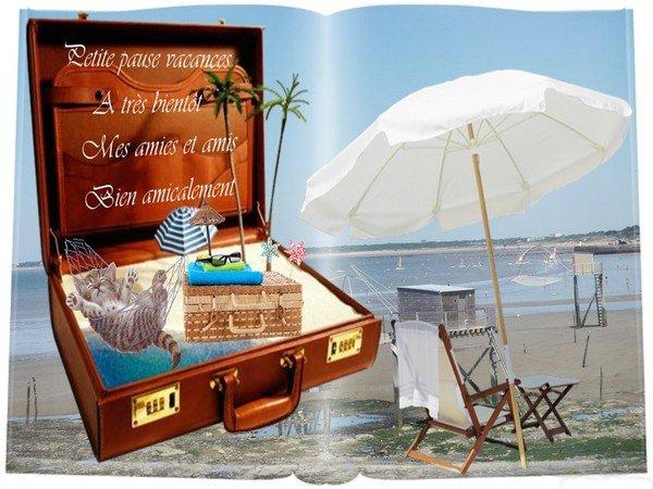 Blog en semi pause...pour les vacances....