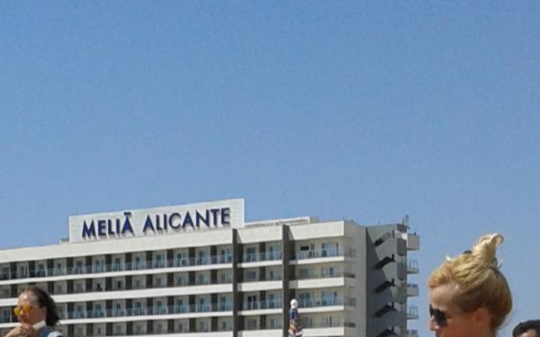 Mes vacances à  Alicante
