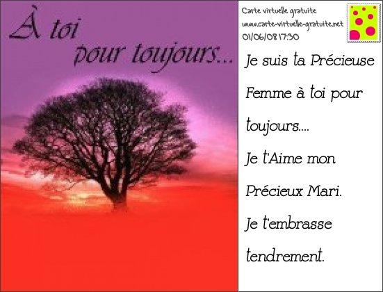 Declaration Damour A Mon Mari Fodil Pour Mon Mari