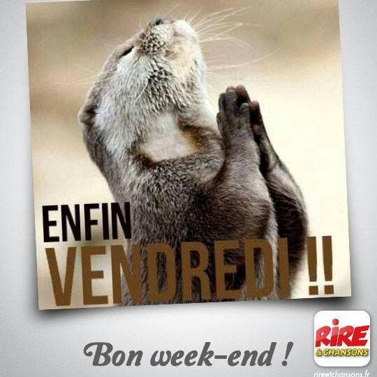 Bon week-end a vous
