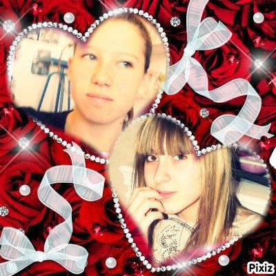 Caroline & Mélodie .