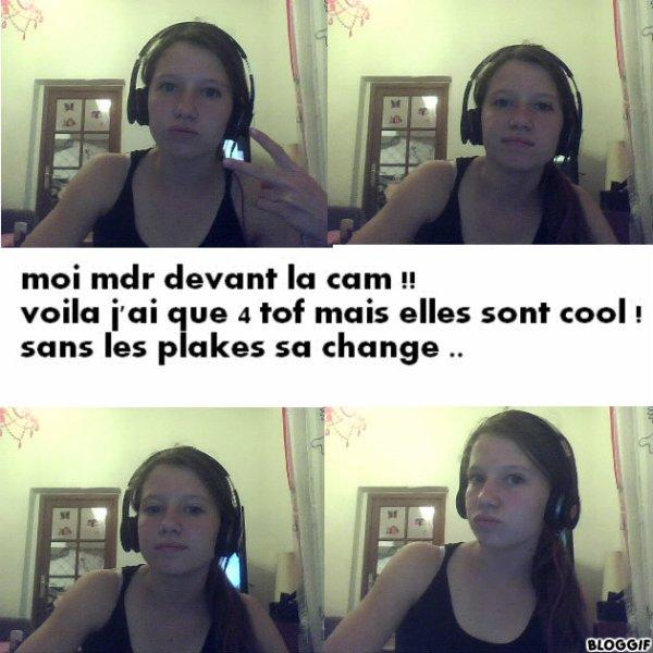 Caroline / C EST LA Mouette / DEVANT La CAM :