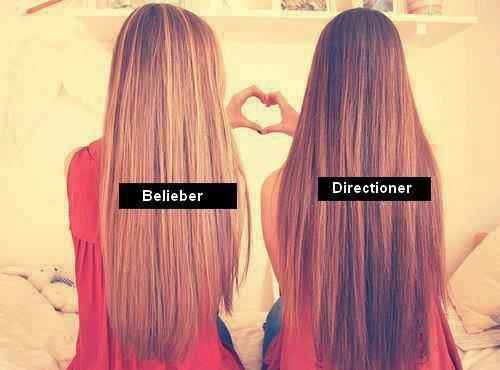 Les Beliebers sont des princesses, les Directioners sont des princesses, mais ensemble nous somme les reines♥.