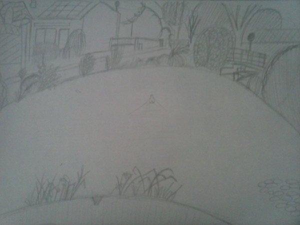 L'étang à côté de chez mwa 8D