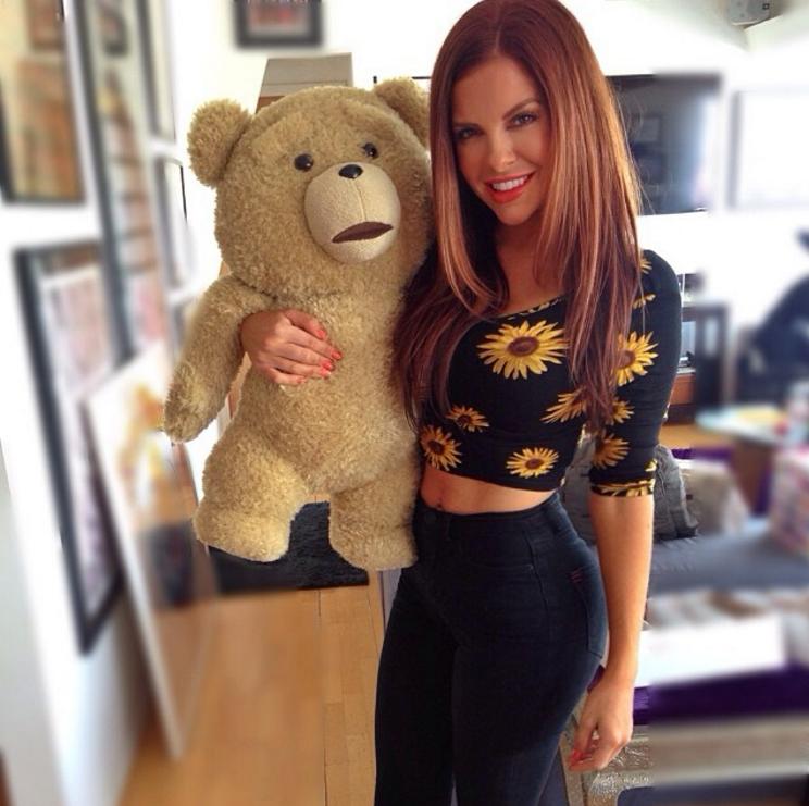 Moi et ma peluche TEDDY ♥
