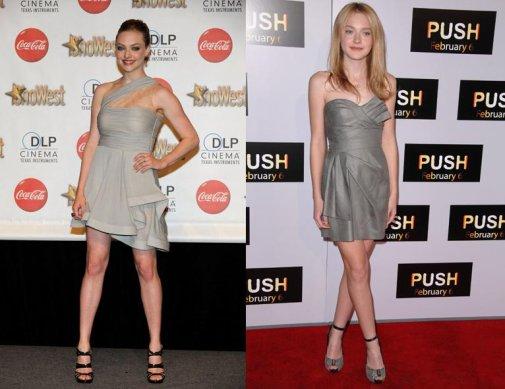 Amanda Seyfried, ShoWest 2010 Awards, Mars 2010 ET Dakota Fanning, Push Premiere, Janvier 2009