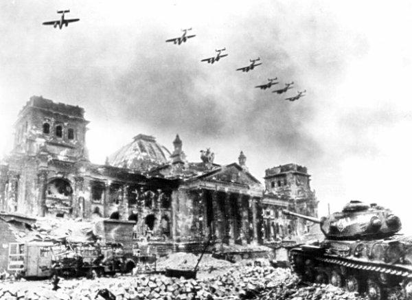 La prise du Reichtag.