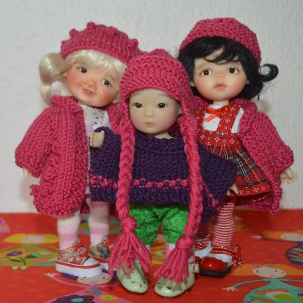 toujours en mode tricot