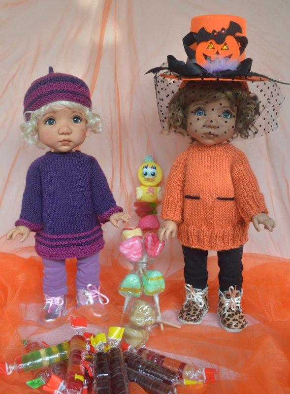 Coucou, me revoici avec 2 bricolages pour Halloween