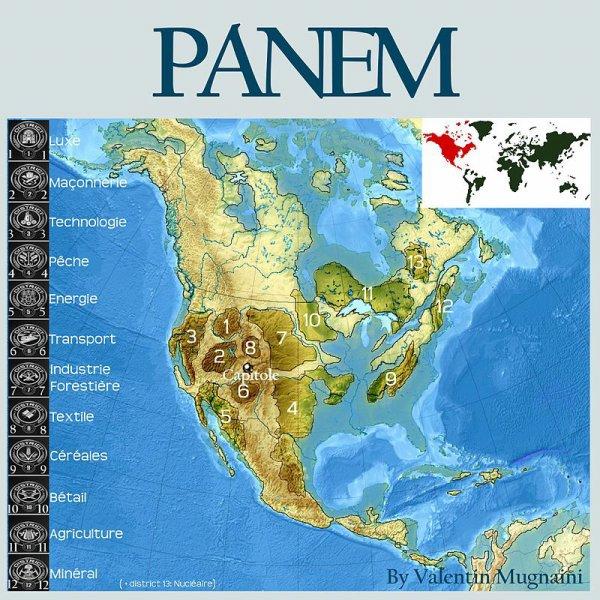 Carte de Panem !