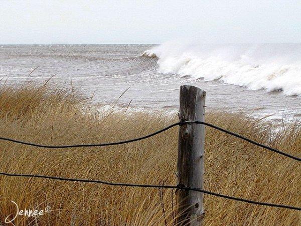 Le 7 Decembre , La mer qui ce déchaine.