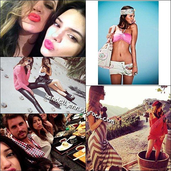 .... 10/09/13 Kendall et sa famille ont été aperçue quittant un restaurant.