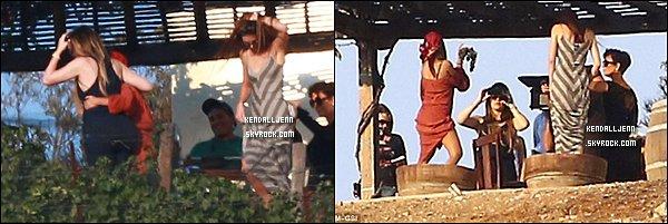 ....11/09/13 Kendall, Kourtney, Khloe et Kris à Malibu.