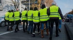 08 décembre 2018 - manifestation des P(orteurs de) . G(ilets) Jaunes - par la pg_trips_association - pastis gratuit chez Rachelle !