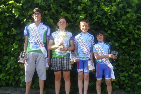 Championnat de la Mayenne des Ecole de Cyclisme au Genest Saint Isle (53)