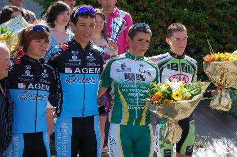 Victoire de Floryan Vilfeu à Cuillé (53)