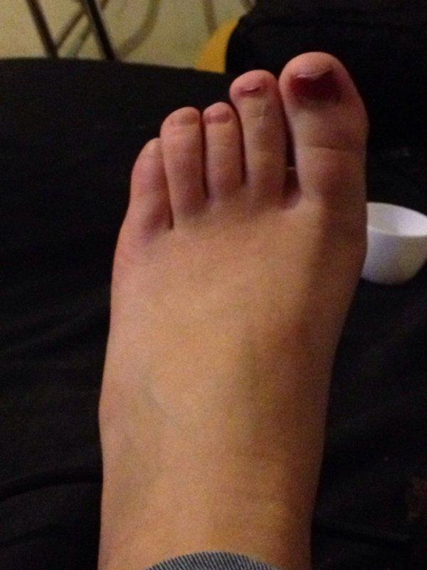 pour ceux qui me demande une photo voila j'ais que mon pied mdrr
