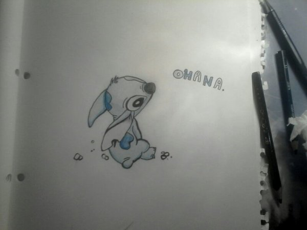 Dessin stitch neko 39 s world - Dessin de stitch ...