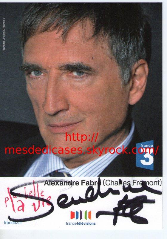 Dédicace D'alexandre Fabre