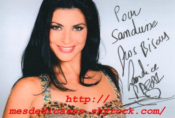 Autographe de Candice Pascal