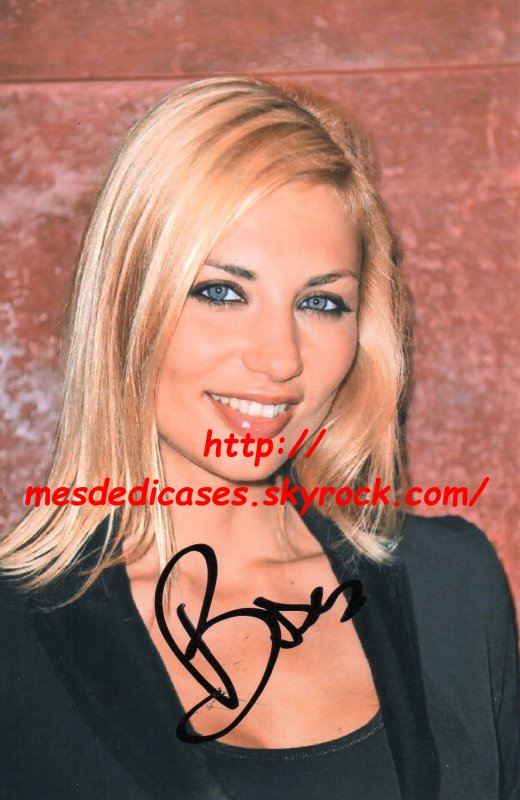Autographe d'Arianne Brodier