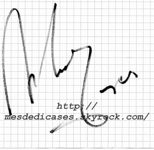 Autographe d'Antonio Fargas