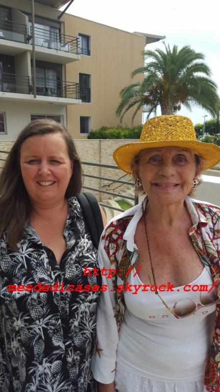 Photo avec Annie Cordy